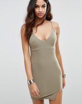 Club L Mini Cami Dress with Split