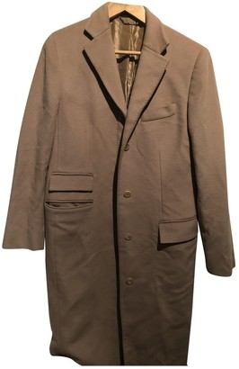 Gucci Brown Cashmere Trench Coat for Women
