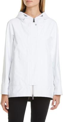 Herno Laminar Two-Ply Gore-Tex(R) PacLite(R) Waterproof Hooded High/Low Coat