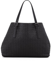 Bottega Veneta Large Double-Strap A-Shape Tote Bag, Black