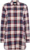 Barbour Beachley Tunic In Large Check Pattern