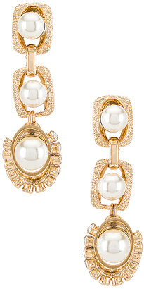 Anton Heunis Pearl Drop Earrings