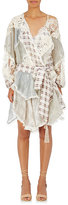 Zimmermann Women's Mixed-Pattern Silk-Blend Minidress