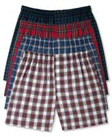 Hanes Men's Boxer Pack with Elastic Waistband