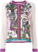 Etro floral embroidered jacket - women - Silk/Wool - 38
