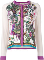 Etro floral embroidered jacket - women - Silk/Wool - 40