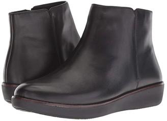 FitFlop Ziggy Zip (Black) Women's Boots