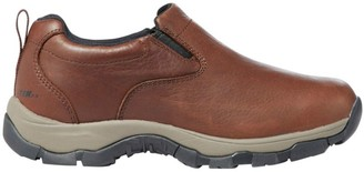 L.L. Bean Women's Insulated Waterproof Comfort Mocs with Arctic Grip, Leather