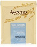 Aveeno Soothing Bath Treatment, 8 Count, net wt. 1.5oz. (Pack of 2)