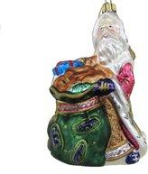 Fitz & Floyd Florentine Xmas Santa Toy Bag Christmas Ornament