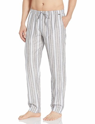 Hanro Men's Night and Day Woven Lounge Pant