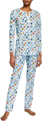 Roller Rabbit Zoo Diac Pima Cotton Pajama Set