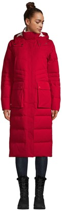 Lands' End Women's Down Expedition Maxi Coat