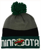 Reebok Minnesota Wild Pom Knit Hat