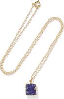 Dara Ettinger Gold-tone stone necklace