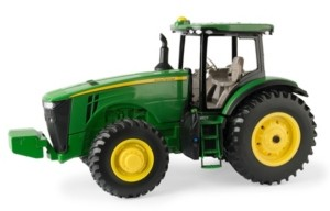 Tomy John Deere 1/16 Scale 8R Tractor with Decal Sheet