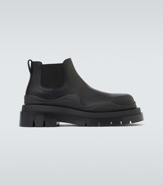 Bottega Veneta Tire leather boots