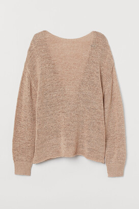H&M Low-backed jumper