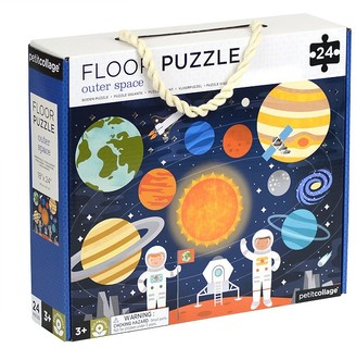 Pottery Barn Kids Petit Collage Outerspace Floor Puzzle