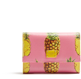 Dolce & Gabbana Pineapple-print leather wallet