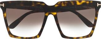 Tom Ford Square Shaped Sunglasses