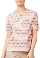 Eastex Textured Stripe Jersey Top
