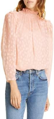 Rebecca Taylor Long Sleeve Cleo Top
