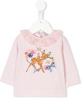 MonnaLisa Bambi print top