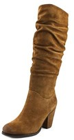 Arturo Chiang Halima Women Round Toe Suede Brown Knee High Boot.