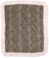 Swankie Blankie Cheetah-Print Receiving Blanket
