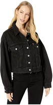 Levi's Premium Premium Pleat Sleeve Trucker (Lady Di) Women's Clothing