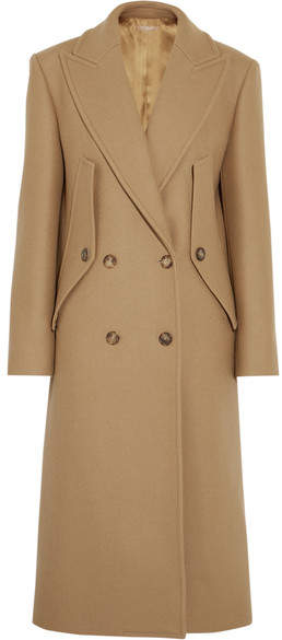 Michael Kors Double-breasted Wool Coat - Camel