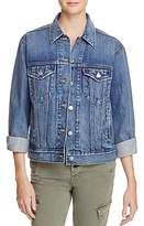 Levi's Ex-Boyfriend Trucker Denim Jacket in Dream of Life