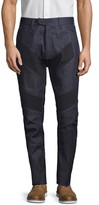 G Star Raw Tapered-Leg Ribbed Jeans