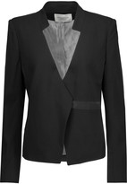 Halston Crepe blazer