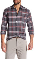 Theory Rammy Plaid Slim Fit Shirt