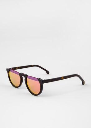 Paul Smith Deep Tortoise 'Brixham' Sunglasses