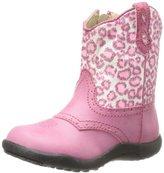 Roper Chunklette Leopard Glitter Western Boot (Infant/Toddler)