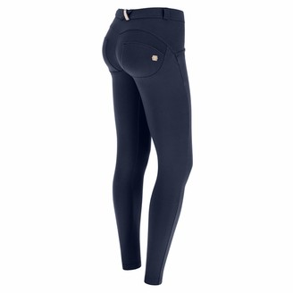 Freddy WR.UP Skinny-fit Stretch Cotton Trousers - Night Blue - Extra Small
