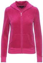 Juicy Couture Logo Velour Fleur Couture Robertson Jacket
