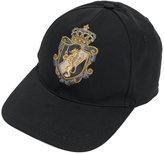 Dolce & Gabbana crest applique baseball hat - men - Silk/Cotton/Polyester/Viscose - 57