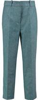 Stella Jean Wool-Blend Straight-Leg Pants