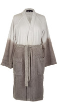 Tommy Hilfiger Grey Dip Dye Bathrobe - Large