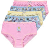 Disney George Princess 5 Pack Briefs