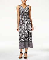 Style&Co. Style & Co. Petite Printed Maxi Dress, Only at Macy's