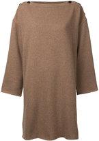 Osakentaro - oversized ribbed jumper - women - Wool - M
