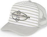 Billionaire Boys Club Logo Striped Trucker Cap