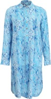 Melissa Odabash Snake Shirt Dress
