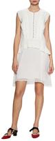 Proenza Schouler Textured A-Line Dress