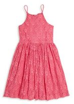 Ella Moss Girl's Bria Floral Bell Dress